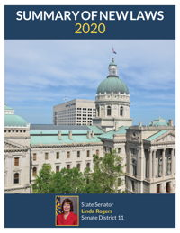 2020 Summary of New Laws - Sen. Rogers