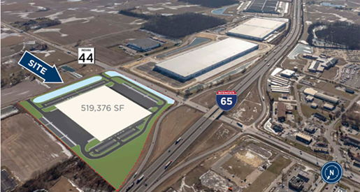 Image for Major New Industrial Activity Announced at I-65 Exit 90 in Franklin