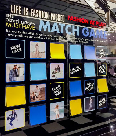 Promotion Strategies for Retailers Game Wall