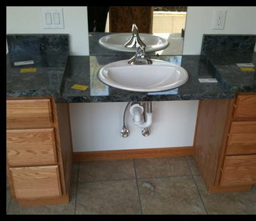 DROP DOWN BATH SINK