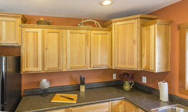 Hickory Upper Cabinets