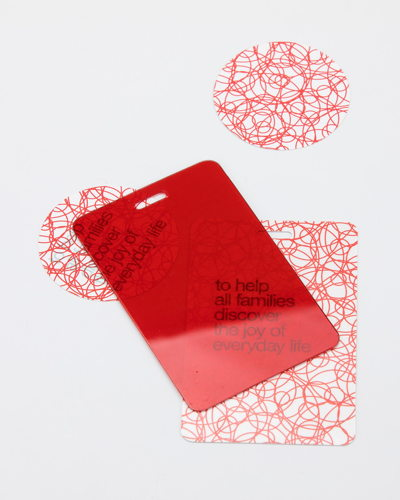 Red Reveal Cards