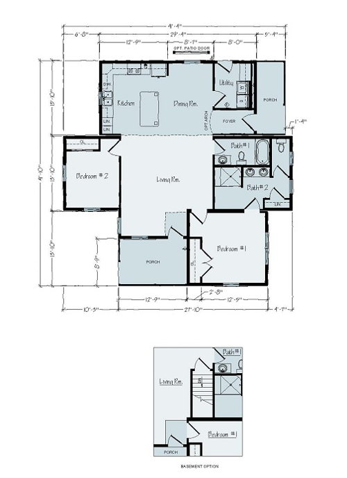 Floorplan of Frankfort