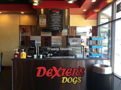 Dexters Vinyl Stand Graphics