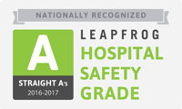 "Johnson Memorial Receives ""A"" Hospital Safety Grade"