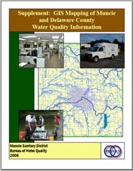 Cover image of Supplement: GIS Mapping of Muncie and Delaware County Water Quality Information