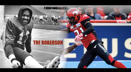 "Image for Calgary Stampeders Player Profiles: Tre Roberson ""Chasing Ghosts"""