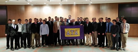 Delta Tau Delta Returns to Oregon State University