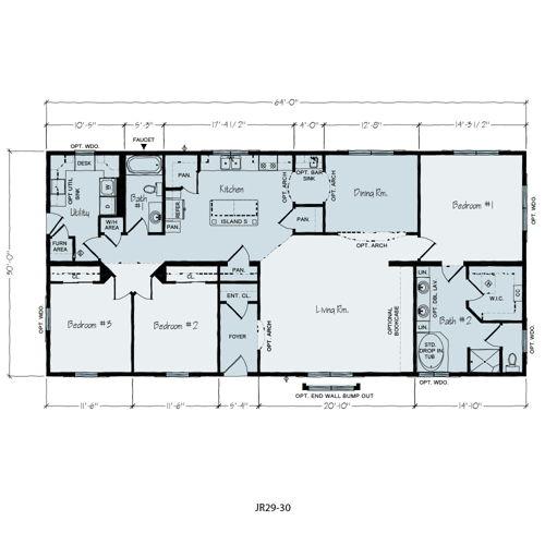 Floorplan of Hobart