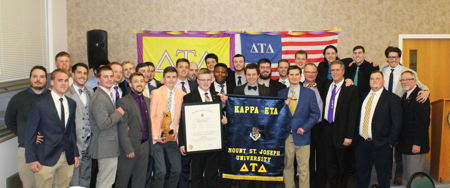 Delta Tau Delta Installs Kappa Eta Chapter at Mount St. Joseph College
