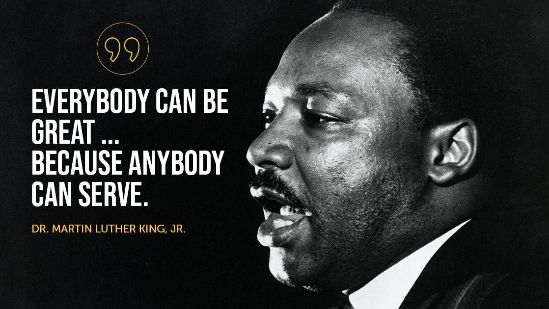 MLK Day of Service Ideas