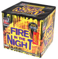 Image for Fire in the NIght 16 Shots
