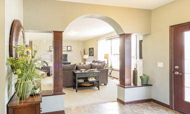 LaPorte Model 2 Livingroom 01