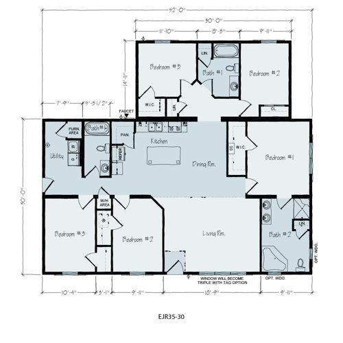 Floorplan of Adelaide Series