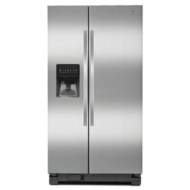 KENMORE 25 CU. FT. REFRIGERATOR- STAINLESS