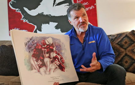 Image for Arm-ripping former Colts LB Barry Krauss has become an ... artist?