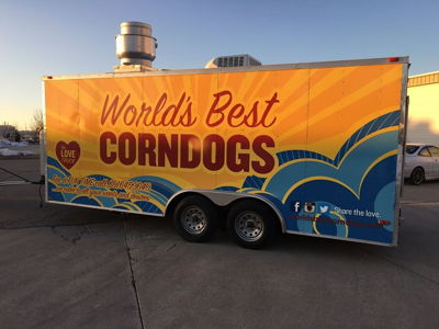 Branded Food Truck Graphics