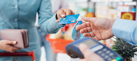 Overdraft Privilege - using a credit card at store