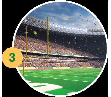 Football Stadium - Rewards Credit Card