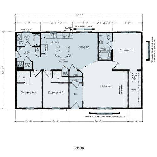 Floorplan of Lincoln