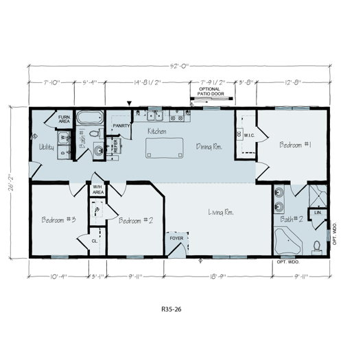 Floorplan of Brentwood