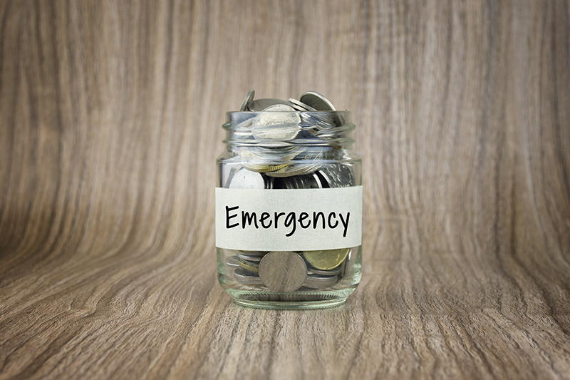 emergency fund jar