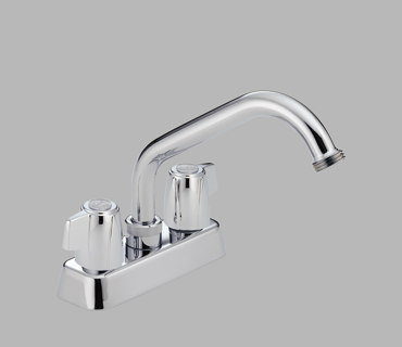Two Handle Laundry Faucet– Polished Chrome