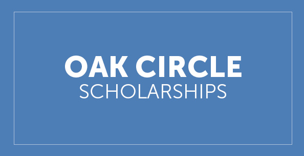 Oak Circle Scholarship button