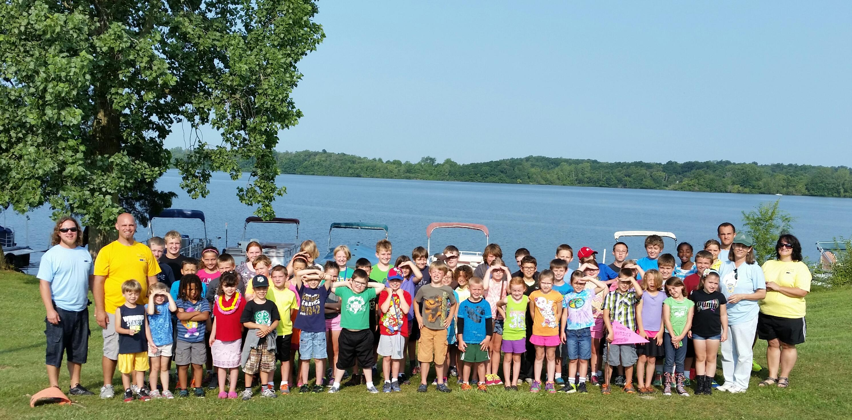 Camp Prairie Creek 2014 Group Photo