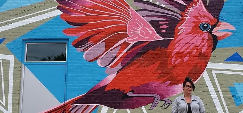 Edinburgh mural 2018