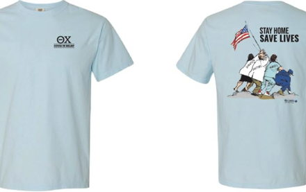 Image for Alpha Kappa/West Virginia Sells Shirts for COVID-19 Relief