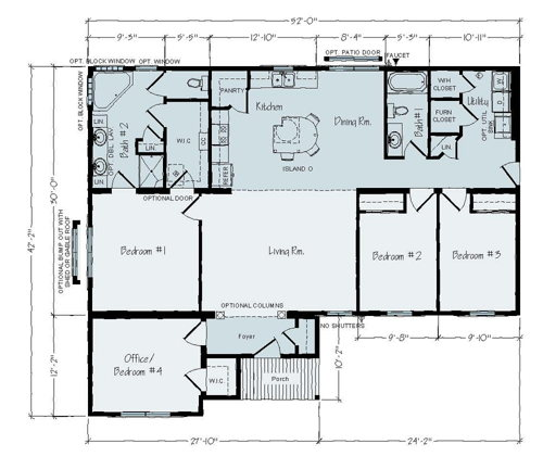Floorplan of Joseph Series