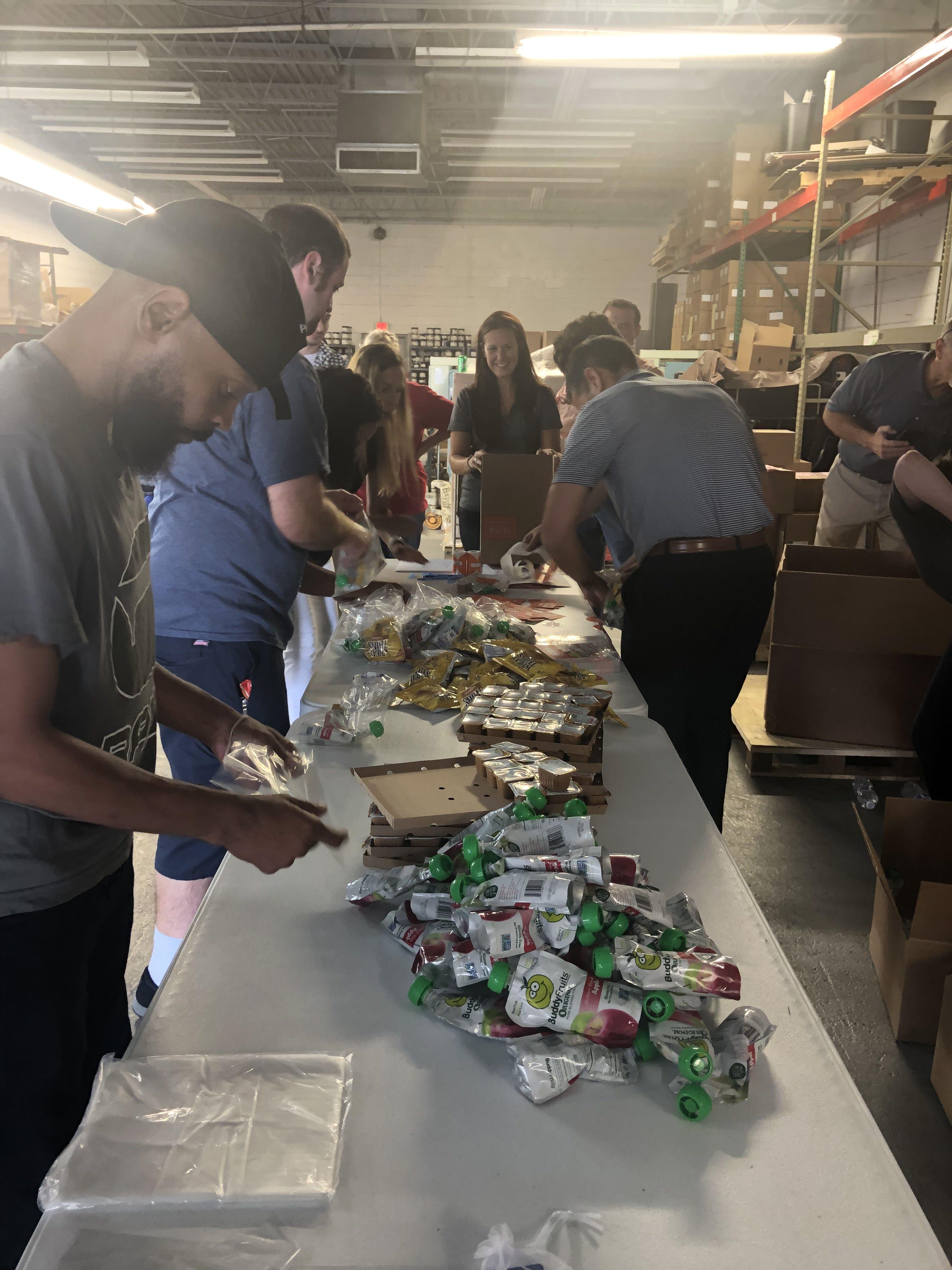 assembling meals 2