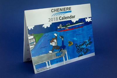 4-Color Print Calendar
