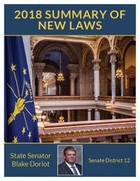 2018 Summary of New Laws - Sen. Doriot