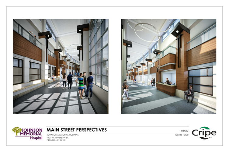 Interior Rendering of Future Emergency/Outpatient Services Facility