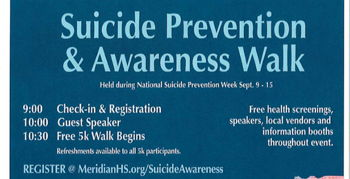 Image for Suicide Prevention & Awareness Walk