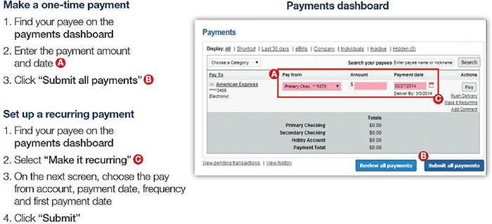 Set Up a One-Time or Recurring Payment