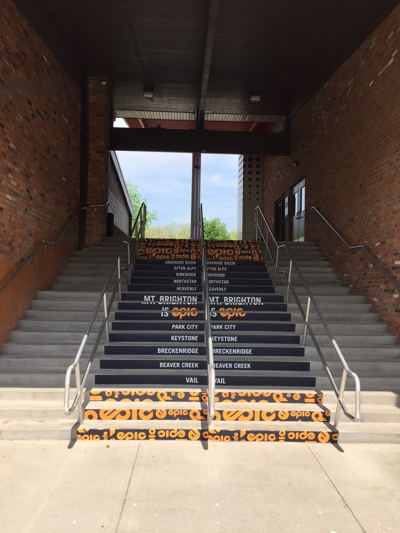 Stairs Step Backings Graphics