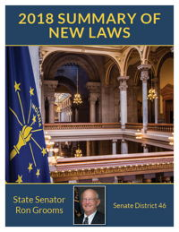 2018 Summary of New Laws - Sen. Grooms