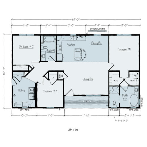 Floorplan of Dublin Series
