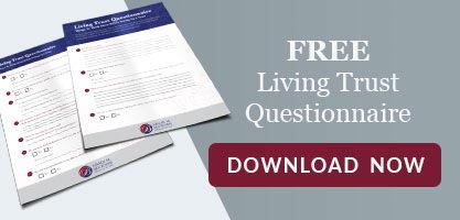 Free Living Trust Questionnaire Download Now CTA