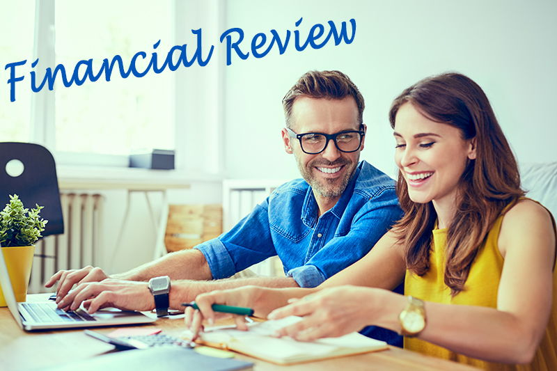 Couple Conducting a Financial Review