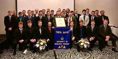 Theta Kappa Chapter Installed at the University of Nebraska at Kearney
