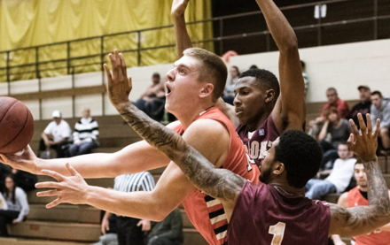 Image for Delta Gamma/WV Wesleyan's Tanner McGrew makes Memphis Hustle roster