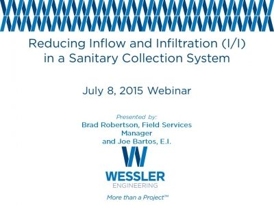 Reducing Inflow & Infiltration in a Sanitary Collection System
