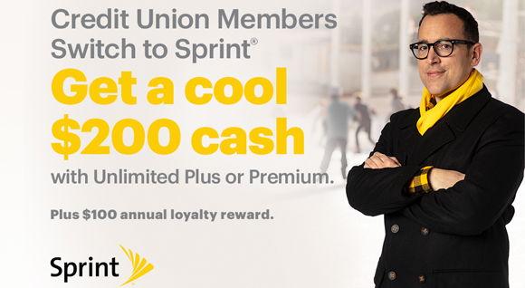 Image for Member Perk: Get Cash Rewards with Sprint
