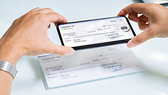 Image for Mobile Check Deposit