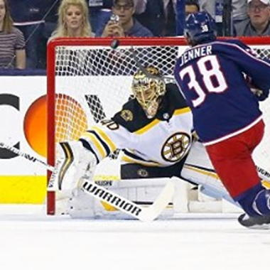 Image for Rask dominates for Bruins; MacKinnon keeps scoring for Avs