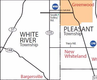White River Branch Map